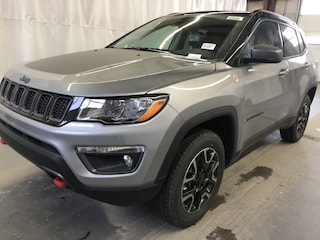 New 2019 Jeep Compass Trailhawk SUV JC1915 3C4NJDDB7KT661651 in Red Deer, AB
