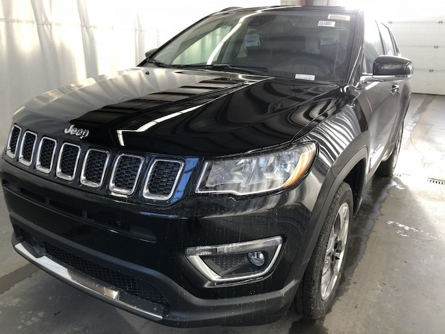 New 2019 Jeep Compass Limited Sport Utility JC1907 in Red Deer, AB