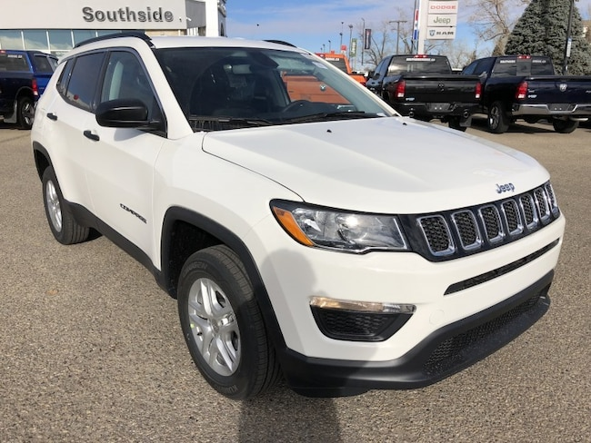 New 2019 Jeep Compass Sport SUV JC1901 in Red Deer, AB