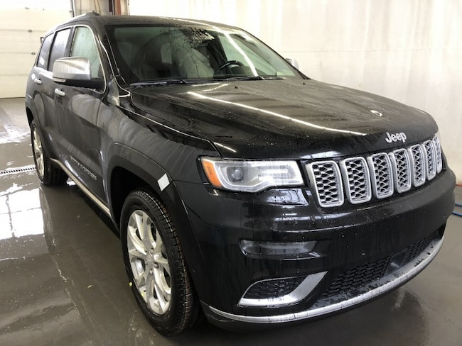 New 2019 Jeep Grand Cherokee Summit SUV GC1904 in Red Deer, AB