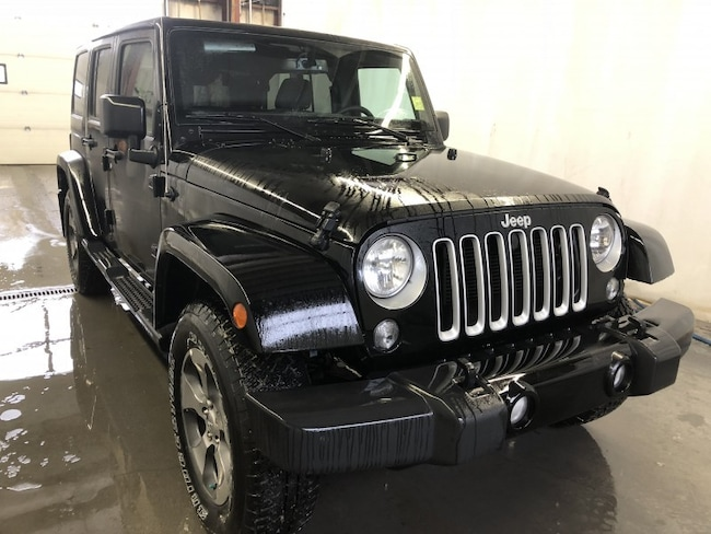 New 2018 Jeep Wrangler JK Unlimited Sahara SUV WR18114 in Red Deer, AB