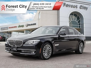 2014 BMW 7 Series leather, roof, nav heated/cooled seats, full load!