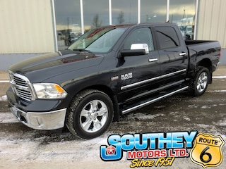 Used 2018 Ram 1500 Big Horn 4x4 - Only 19,000 km's Truck 1C6RR7LT7JS204464 in Southey, SK