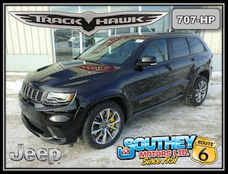 New 2018 Jeep Grand Cherokee Trackhawk 4x4 - World's Fastest SUV SUV in Southey, SK