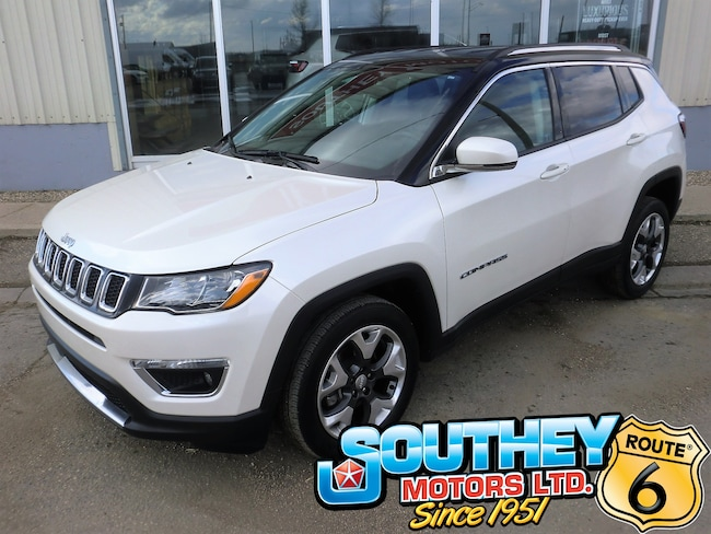 Used 2018 Jeep Compass Limited 4x4 - Only 50,000 km's SUV 3C4NJDCB7JT210834 for sale near Regina