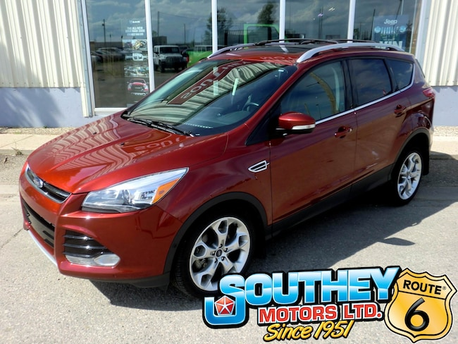 Used 2015 Ford Escape Titanium 4x4 - Only 80,000 km's SUV 1FMCU9J98FUC70318 for sale near Regina