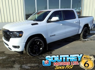New 2020 Ram 1500 Big Horn Night Edition Truck Crew Cab 1C6SRFFTXLN272945 in Southey, SK