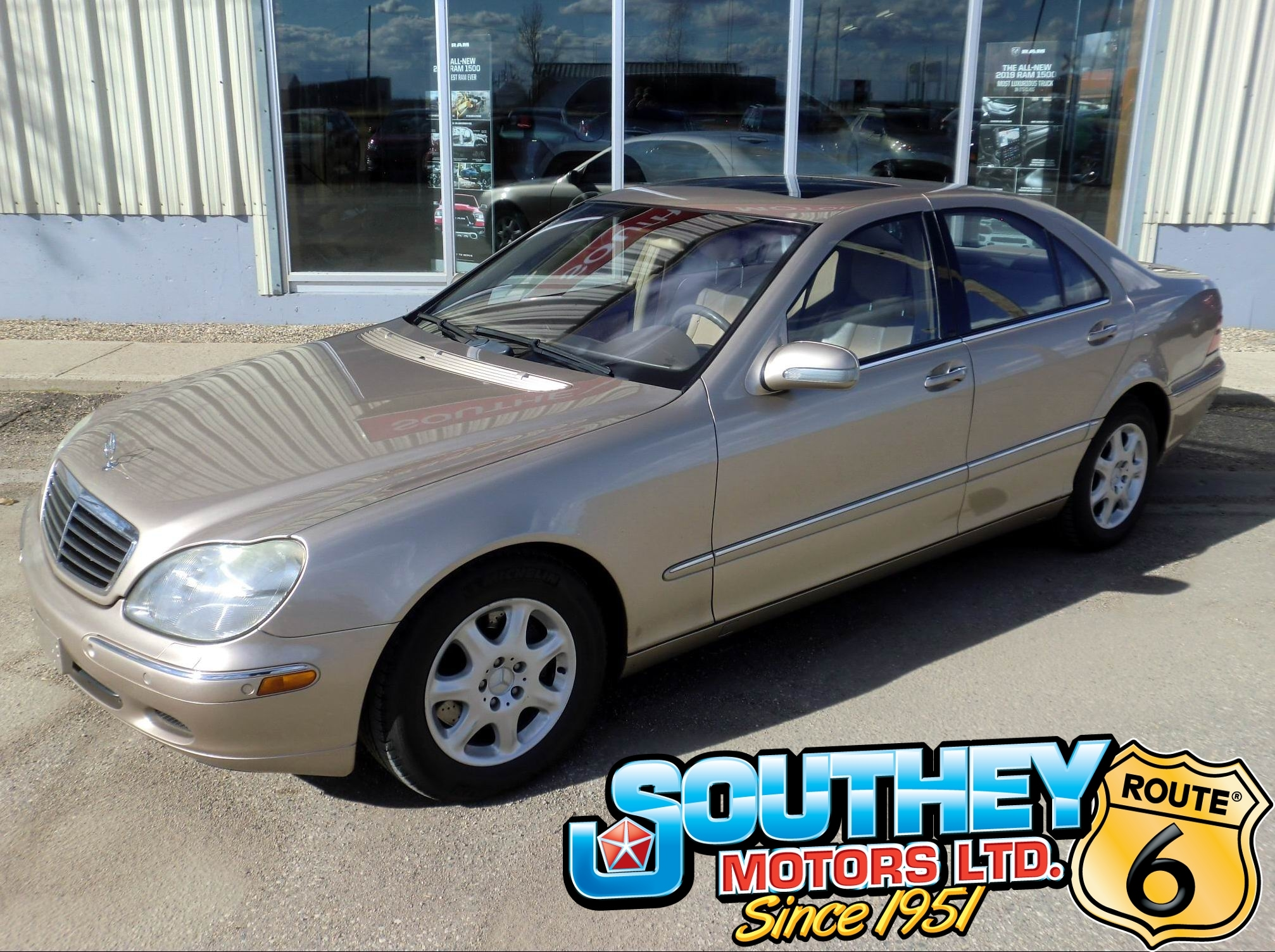 2001 Used Mercedes Benz S Class S430 Fully Loaded For Sale In Southey Sk Used Car Dealer Near Moose Jaw Regina 13797