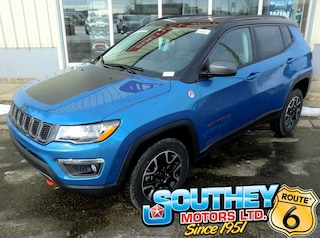 New 2020 Jeep Compass Trailhawk SUV 3C4NJDDB5LT132958 in Southey, SK