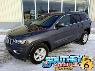 Used 2017 Jeep Grand Cherokee Laredo 4x4 - Only 9,000 km's SUV 1C4RJFAG5HC687053 in Southey, SK