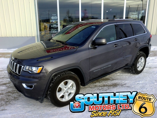 Used 2017 Jeep Grand Cherokee Laredo 4x4 - Only 9,000 km's SUV 1C4RJFAG5HC687053 for sale near Regina