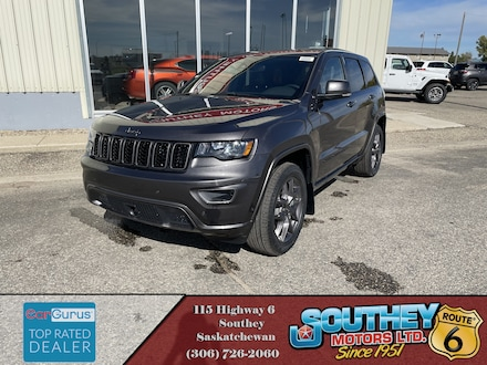 New 2021 Jeep Grand Cherokee Limited SUV for sale in Southey, SK