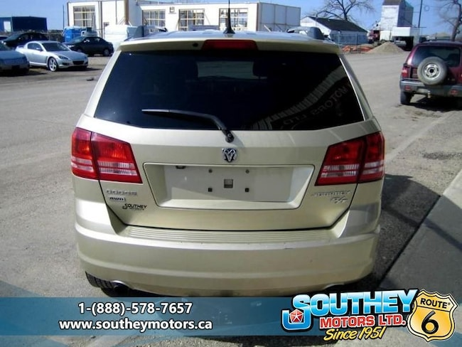 2010 Used Dodge Journey R/T AWD - Low Mileage For Sale in Southey SK | Used  Car Dealer near Moose Jaw & Regina | 12748