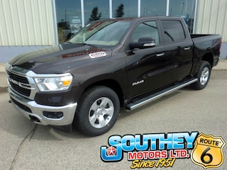 New 2019 Ram All-New 1500 Big Horn Truck Crew Cab 1C6SRFFT9KN767524 in Southey, SK