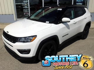 New 2019 Jeep Compass Altitude SUV 3C4NJDBB8KT817439 in Southey, SK