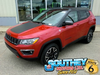 New 2019 Jeep Compass Trailhawk SUV 3C4NJDDB8KT817535 in Southey, SK