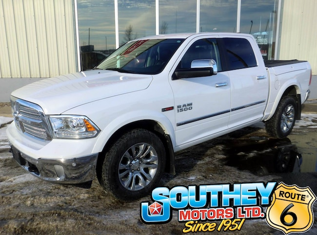 Used 2015 Ram 1500 Limited 4x4 - Eco-Diesel - Only 51,000 km's Truck 1C6RR7PM5FS612813 for sale near Regina