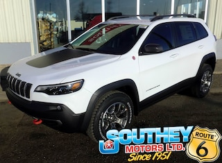 New 2020 Jeep Cherokee Trailhawk SUV 1C4PJMBXXLD558433 in Southey, SK