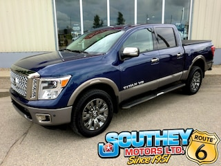 Used 2018 Nissan Titan Platinum Reserve 4x4 - Fully Loaded Truck 1N6AA1E57JN540765 in Southey, SK