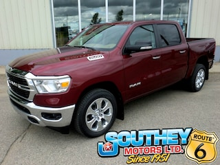 New 2019 Ram All-New 1500 Big Horn Truck Crew Cab 1C6RRFFG8KN873058 in Southey, SK
