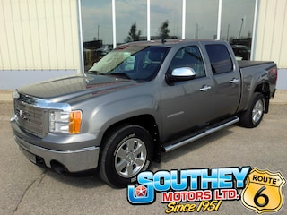 Used 2013 GMC Sierra 1500 SLT Z71 Off-Road 4x4 - Low Mileage Truck 3GTP2WE78DG188950 in Southey, SK