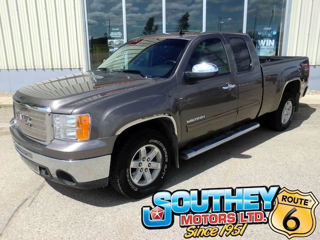 Used 2012 GMC Sierra 1500 SLE Z71 4x4 - Remote Start Truck 1GTR2VE77CZ191890 for sale near Regina