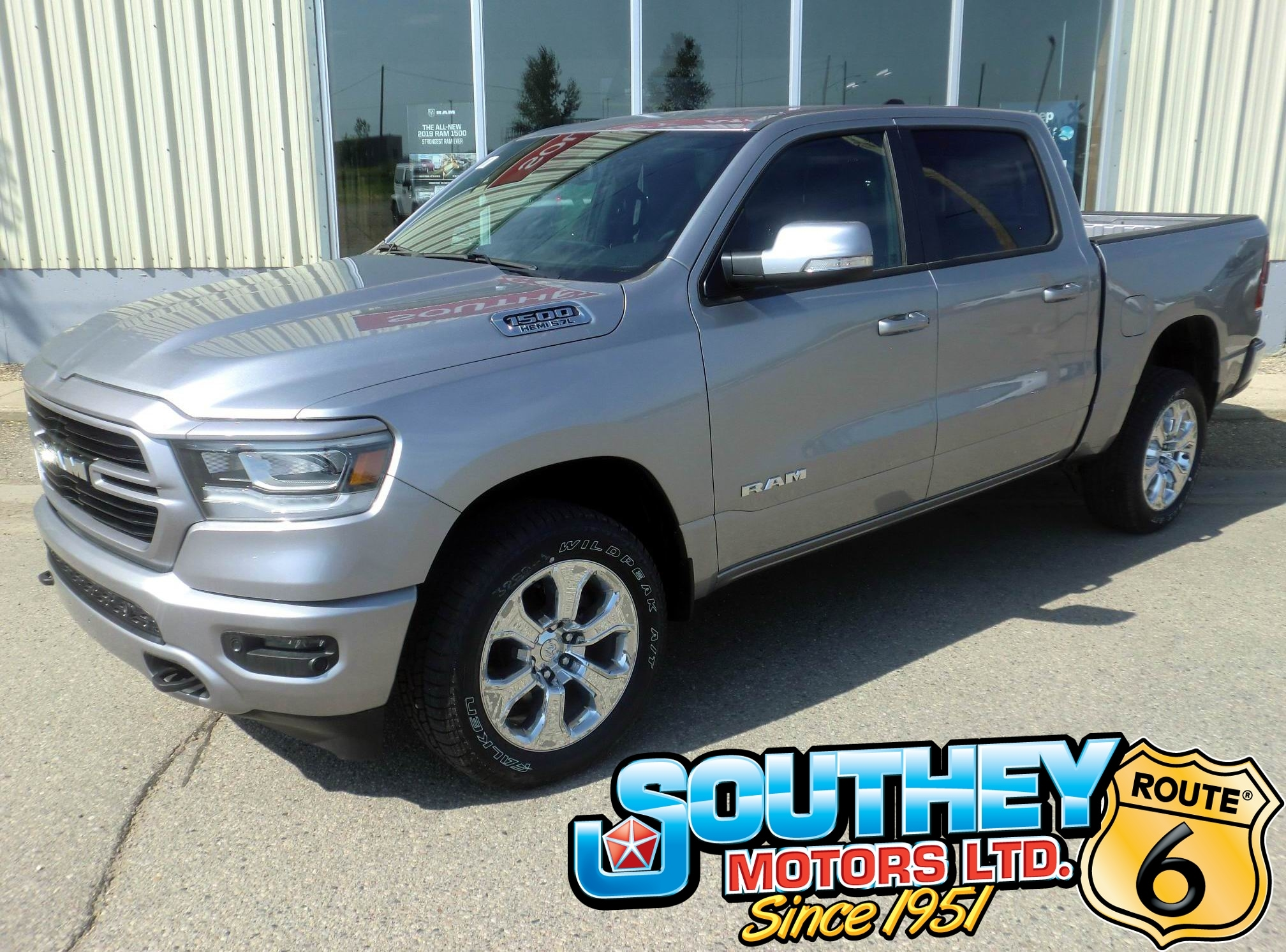 New 2019 Ram All-New 1500 Big Horn Truck Crew Cab for sale in Southey, SK