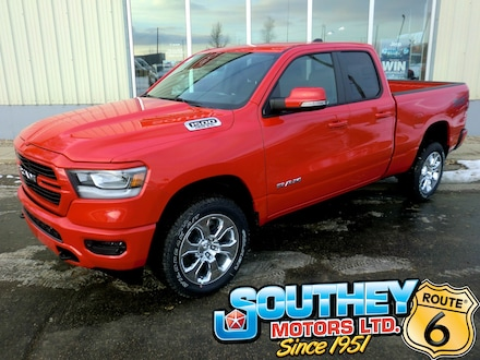 New 2020 Ram 1500 Big Horn North Edition Truck Quad Cab for sale in Southey, SK