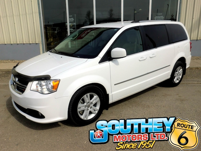 Used 2015 Dodge Grand Caravan Crew - Fully Loaded Minivan 2C4RDGDG2FR501269 for sale near Regina