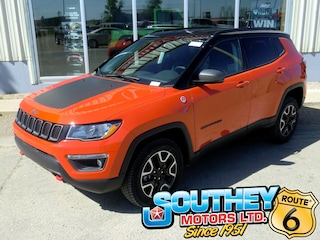 New 2019 Jeep Compass Trailhawk SUV 3C4NJDDB7KT733688 in Southey, SK