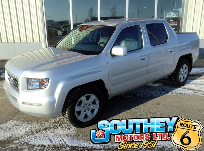 Used 2007 Honda Ridgeline EX-L 4x4 - Heated Leather Truck 2HJYK16547H002776 for sale near Regina