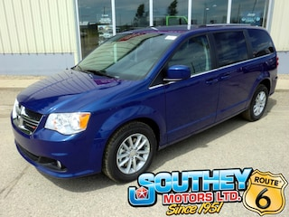 New 2019 Dodge Grand Caravan SXT Premium Plus Van 2C4RDGBG0KR719191 in Southey, SK