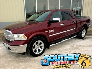 Used 2017 Ram 1500 Laramie 4x4 - Only 59,000 km's Truck 1C6RR7VT4HS737749 in Southey, SK