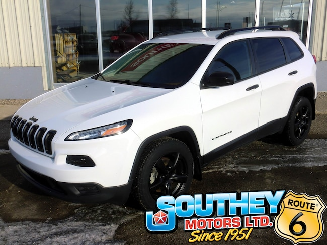 Used 2016 Jeep Cherokee Sport 4x4 - All Equipped SUV 1C4PJMAB1GW304724 for sale near Regina