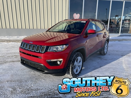 New 2021 Jeep Compass North - Cold Weather Group SUV for sale in Southey, SK