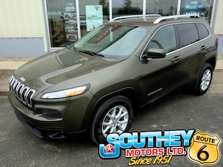 Used 2015 Jeep Cherokee North 4x4 - Heated Seats SUV 1C4PJMCS8FW513843 in Southey, SK