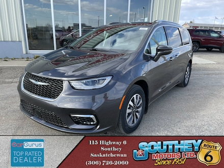 New 2021 Chrysler Pacifica Hybrid Touring L Plus Van Passenger Van for sale in Southey, SK