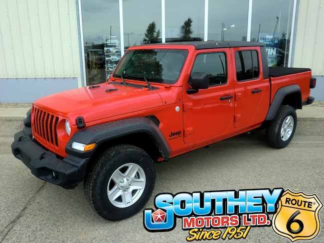 Used 2020 Jeep Gladiator Sport S 4x4 - One Of The First In The Province Truck 1C6HJTAG3LL104084 for sale near Regina