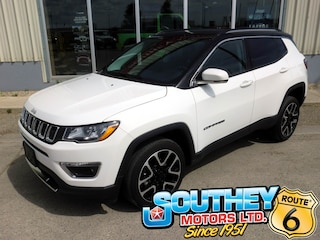 Used 2018 Jeep Compass Limited 4x4 - Fully Loaded VUS 3C4NJDCBXJT412809 in Southey, SK