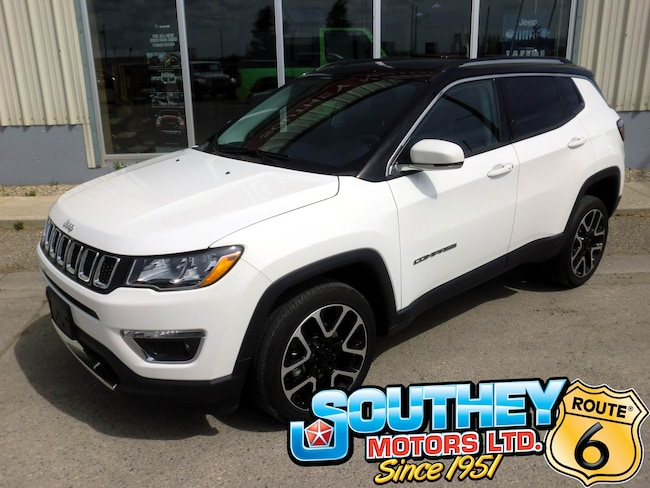 Used 2018 Jeep Compass Limited 4x4 - Fully Loaded SUV 3C4NJDCBXJT412809 for sale near Regina