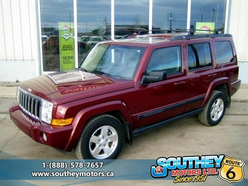 Used 2007 Jeep Commander Sport 4x4   Fully Loaded SUV For Sale Near Regina