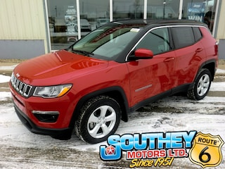 New 2020 Jeep Compass North SUV 3C4NJDBBXLT133350 in Southey, SK
