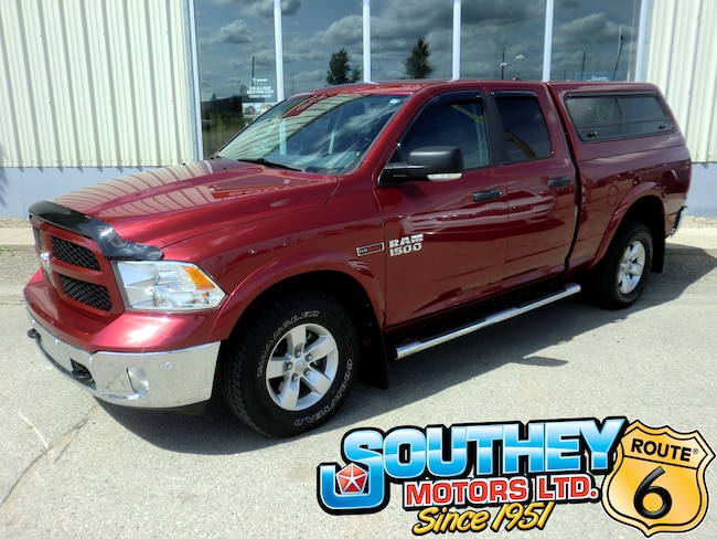 Used 2015 Ram 1500 Outdoorsman 4x4 - Eco-Diesel - Only 124,000 km's Truck 1C6RR7GMXFS730694 for sale near Regina