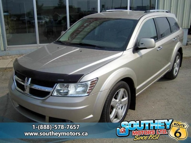 2009 Used Dodge Journey R/T AWD - Fully Loaded For Sale in Southey SK |  Used Car Dealer near Moose Jaw & Regina | 12854