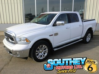 Used 2018 Ram 1500 Longhorn 4x4 - Only 59,000 km's Truck 1C6RR7PM0JS249104 in Southey, SK