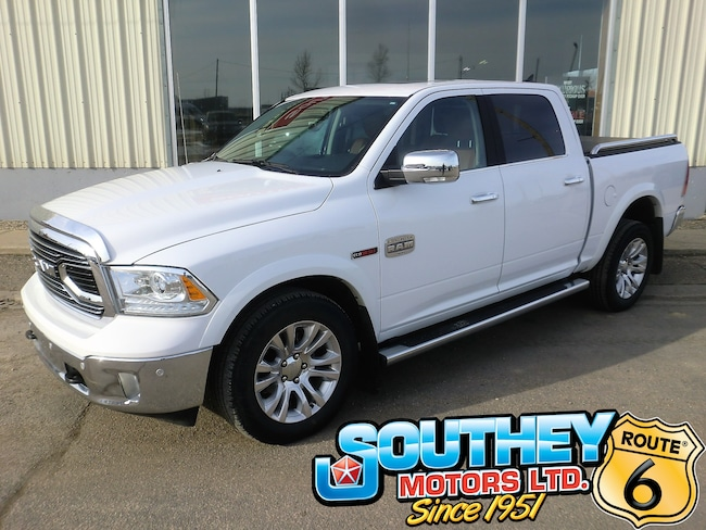 Used 2018 Ram 1500 Longhorn 4x4 - Only 59,000 km's Truck 1C6RR7PM0JS249104 for sale near Regina