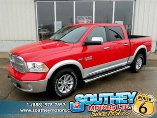 Used 2016 Ram 1500 Laramie 4x4 - Fully Loaded Truck 1C6RR7NT4GS223544 in Southey, SK