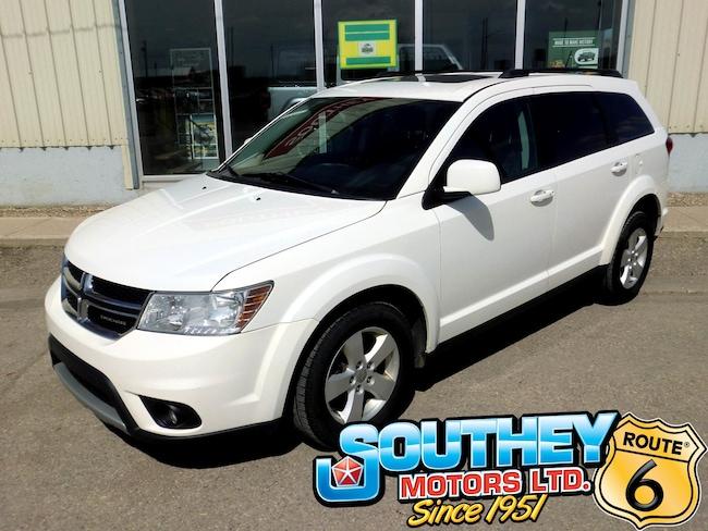 Used 2011 Dodge Journey SXT - Sunroof SUV 3D4PG5FG7BT541406 for sale near Regina