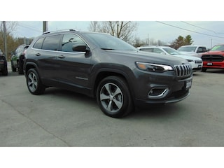 2019 Jeep Cherokee Limited 4X4- Tech Group/ Safetytec/ NAV SUV