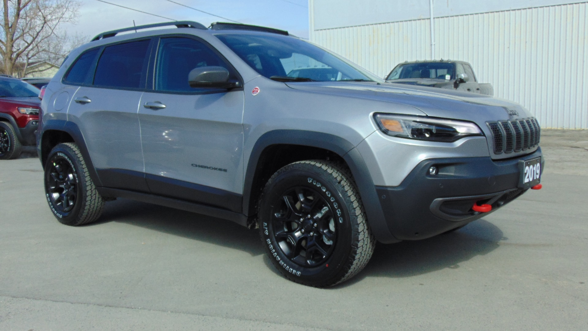 New 2019 Jeep New Cherokee Trailhawk Elite For Sale